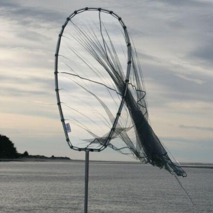 Fishfighter Whitebait Net 10' Scoop With Trap