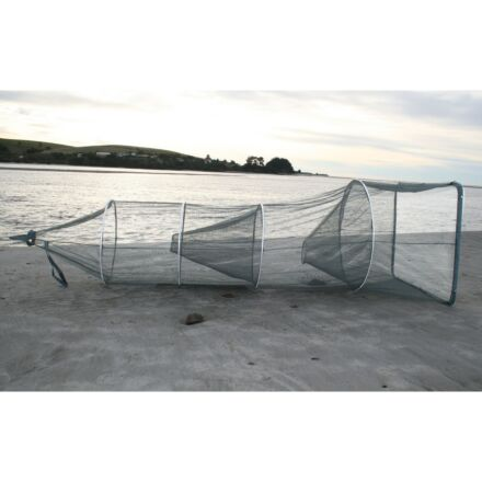 Fishfighter Whitebait Net Sock with 2 Traps