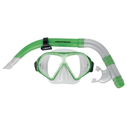 Mirage Set19 Freedom Adult Mask & Snorkel Set