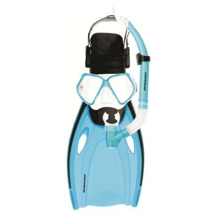 Mirage FSet51 Nomad Adult Mask, Snorkel & Fin Set - Blue