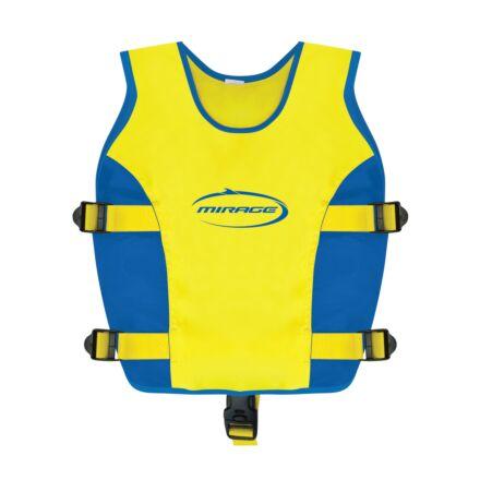 Mirage Swim Vest Jnr Blue/Yellow