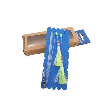 Mustad NZR01 Penetrator Flash Rig - Lumo/Green
