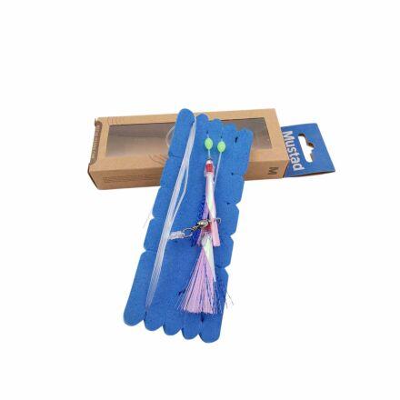 Mustad NZR03 Penetrator Flash Rig - Pink/Blue