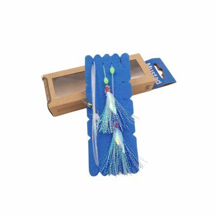 Mustad NZR04 Penetrator Flash Rig - Blue/Silver